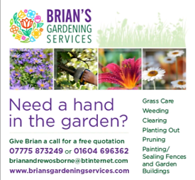 Gardening, grass care, leaf clearing, pruning, weeding and painting