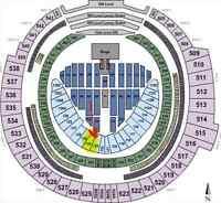 Beyonce Formation World Tour - Toronto 2-6 tix sec 124
