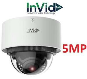 NEW INVID PLUG  PLAY IP CAMERA 5MP ELEV-P5DRXIRAF2812 250354954 SURVELLIANCE SECURITY  IR Outdoor Dome Camera, 2.8-12...