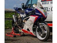 Suzuki SV 650 race bike