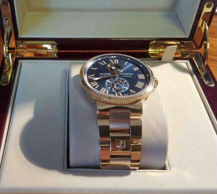 Ulysse Nardin Maxi Marine Chronometer 43 - watch picture 1
