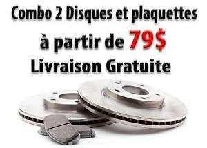 Disques et plaquettes de freins: Toyota 4Runner, Avalon, Camry..