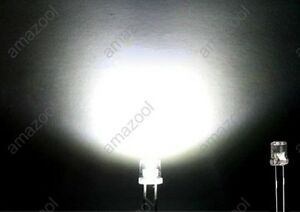 100pcs-x-3mm-Flat-top-Light-Wide-Angle-Head-lamp-LED-white