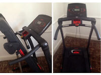 York Fitness foldingTreadmill heritage t101 with owners manual