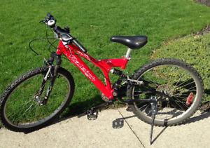 Kids Red Raleigh Avenger 6061 Mountain Bike