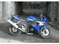 YAMAHA YZF-R6 2004 5SL BLUE/BLACK