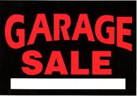 Garage Sale Dieppe, 75 Legresley (off Pascale St.)