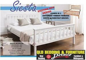 New Wooden Bed Frames. Rent to Keep Option Available. Logan Area Preview