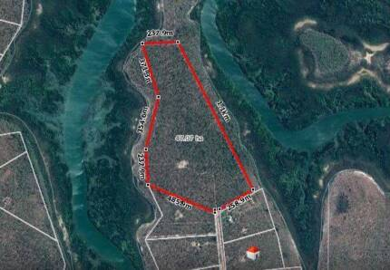 Hurry - Rare 116 acres with water frontage at Dundee