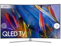 Samsung TV QE49Q7F 49 Inch model 4K Ultra HD Smart QLED TV
