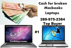 Wanted: I will buy your broken windows laptop - Macbook