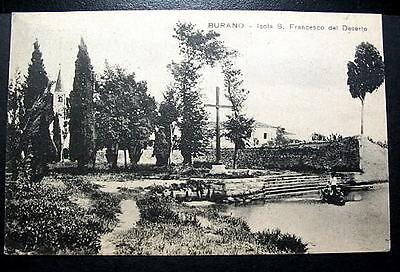 Italy Burano Isola S Francesco Del Deserto 1925