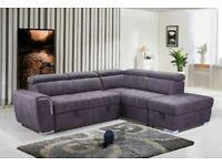 Nevada Sofa Bed – Grey Fabric