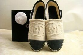Chanel espadrilles brand new comes for size 3 UK and size 5 UK