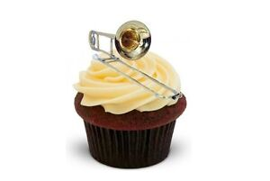 Musical Instrument Cake Toppers