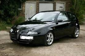 Alfa 147 LH Door and Wing in Black - Wanted