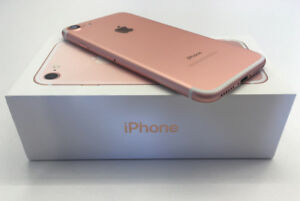 FACTORY UNLOCKED APPLE IPHONE 7 128GB ROSE GOLD BOXED $529