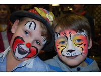 Facepainting in Luton, Houghton Regis and Dunstable