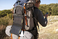 "FOLD-UP ""SOLAR PANELS"" for your next cycling or backpacking trip"