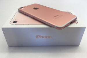 FACTORY UNLOCKED APPLE IPHONE 7 32GB ROSE GOLD BOXED $399