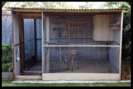 Walk in Aviary Double Door 3m W x 2m H x 2.5m D Oakleigh East Monash Area Preview
