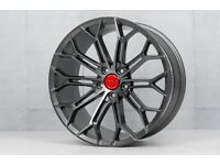 "19"" X 8.5 Veeman V-FS41 Alloy wheels and tyres (5x112) Suits most VW, AUDI SEAT ETC"