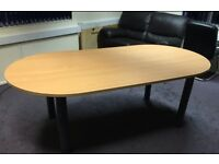 Modern office boardroom table great condition