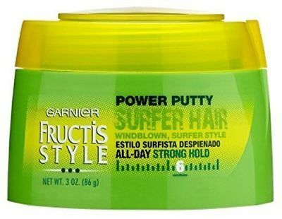 Hair Putty - Garnier Fructis Style Surfer Hair Power Putty All Day Strong Hold 3 oz Free Ship