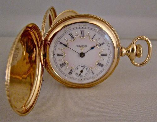 elgin gold pocket ebay