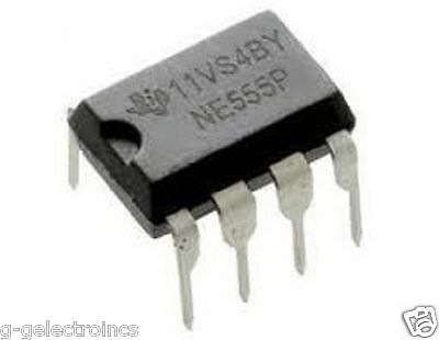 5 X Ne555 Ic Texas Instruments Timers   Usa Seller - Free Shipping