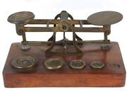 Antique Coin Scale