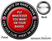 Pin Badges Job Lot