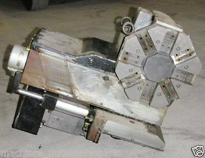 Hardinge Superslant Lathe Cnc 8 Position Tool Turret