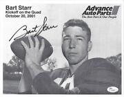 Bart Starr Autograph
