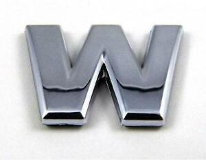 Chrome letters parts accessories ebay for Raised metal letters