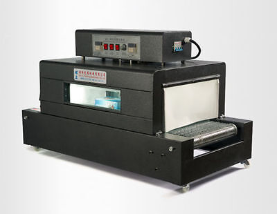 Thermal Heat Shrink Sealing Packing Machine Tunnels For Pp Pof Pvc 220v A