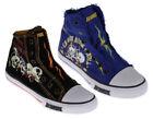 Ed Hardy Canvas Slip - On Unisex Kids' Shoes