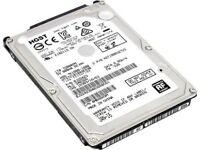 """1TB 2.5"""" HGST SATA Internal Hard Drive 32MB 7200RPM"""