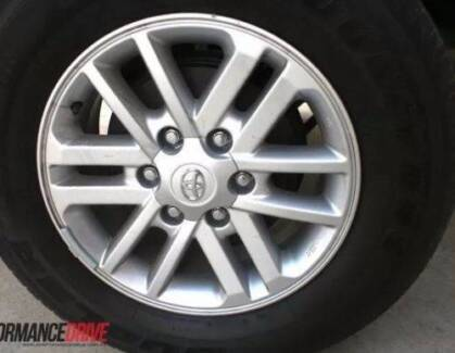 Toyota Hilux SR5******2015 Genuine Alloy wheel with tyre X 1 ONLY