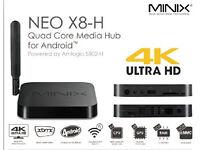 Minix Neo X8 Android 4.4 TV Box 2.0Ghz Amlogic S802 Quad Core 2GB RAM