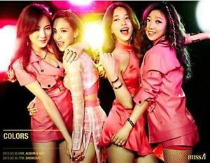 MISS A  The 7th PROJECT COLOR  Mini Album CD + Photo Book + Card Sealed K-POP