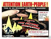 Earth Flying Saucers