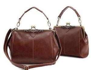 Vintage Brown Leather Bags