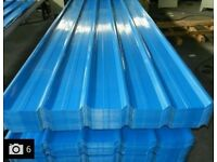 Metal Roofing sheets High Quality colour Blue/Grey 300 x 91cm shed,Aviary , garage or work shop