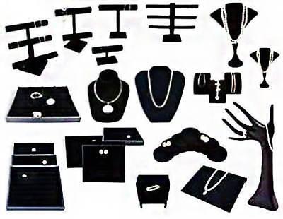 Jewelry Display Storage Mannequin Necklace Bracelet Watch Stand Holder Case 15