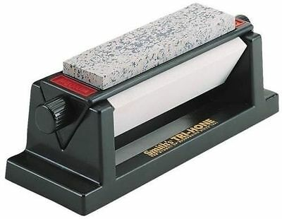 NEW SMITH'S ABRASIVES TRI 6 THREE STONE SIDED TRI HONE DELUXE KNIFE SHARPENER