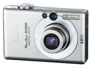 CANON: PowerShot SD300 Digital ELPH *WOW!