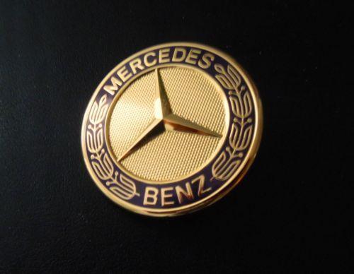 Mercedes Gold Emblem