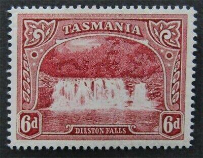nystamps British Australia States Tasmania Stamp # 93 Mint OG H $45   L23x2694
