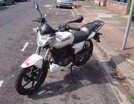 Motorcycle KSR Moto Worx 125cc first owner serviced heathen handles